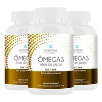 Kit-3-Potes-Omega-3-Central-Nutrition